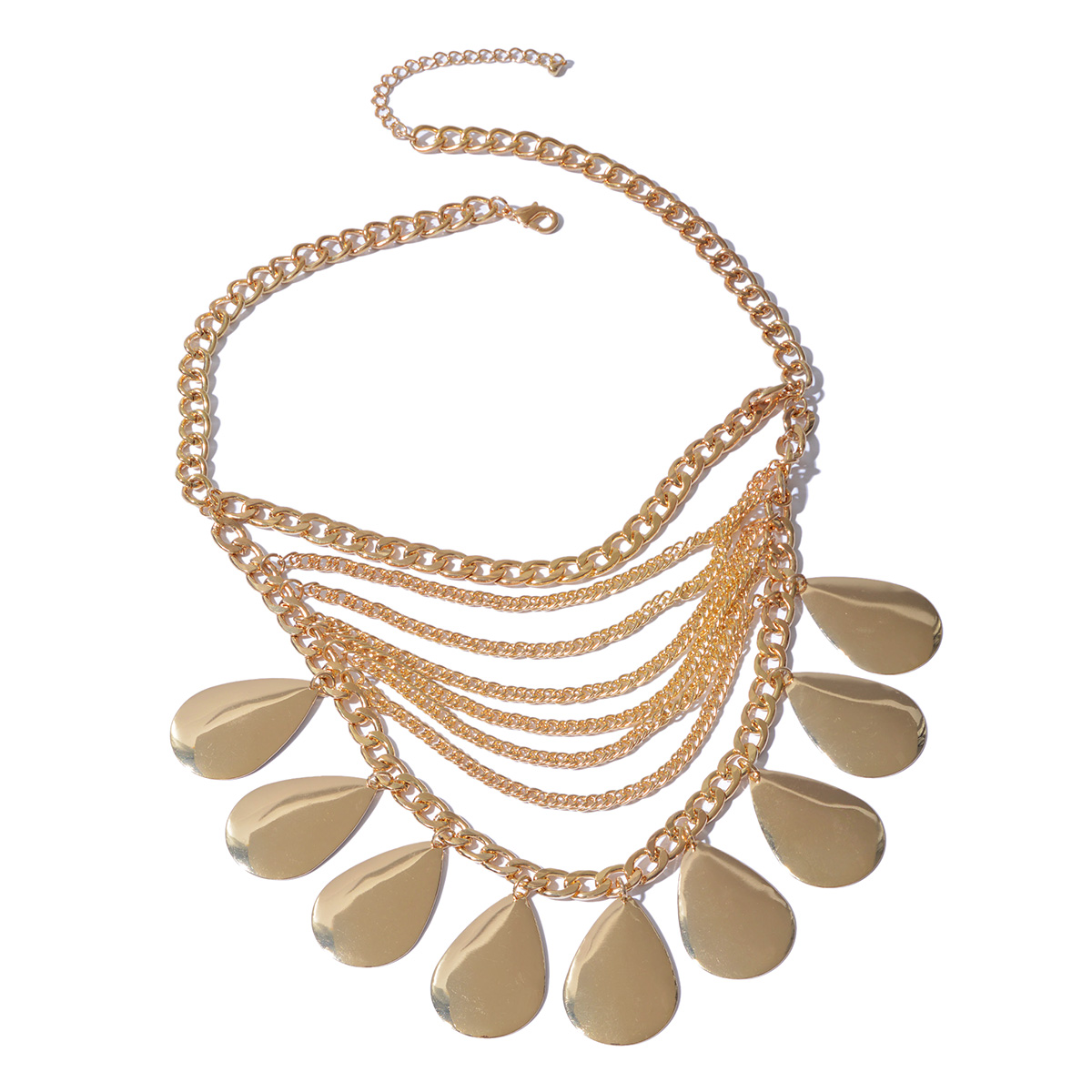 Necklace (18-20 in) in Goldtone
