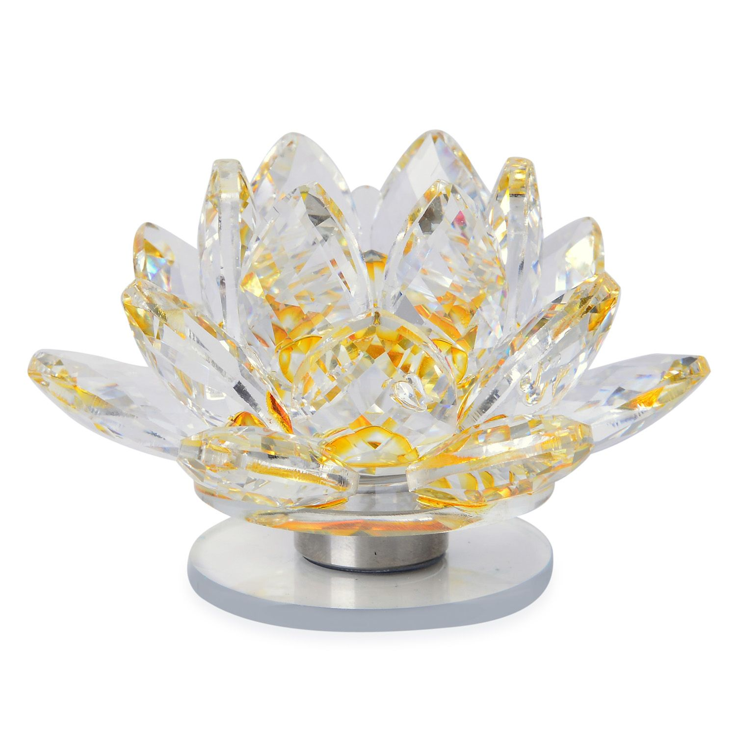Deepaks Dazzling Deal Champagne Glass Lotus Flower With Led Light