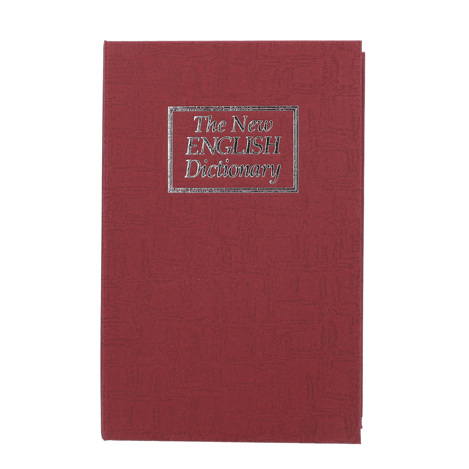 The New English Dictionary Marsala Book Safe (7 08x2 16x4 52 in)