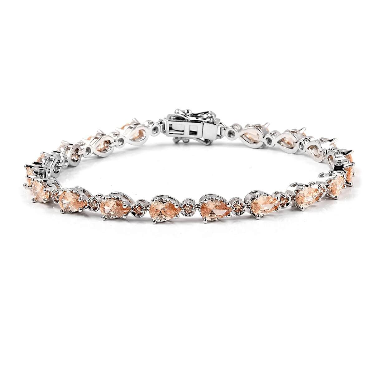 Champagne Shire Tennis Bracelet