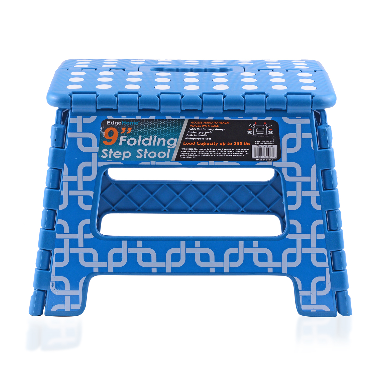 Sensational Blue Folding Step Stool 9 In Gmtry Best Dining Table And Chair Ideas Images Gmtryco