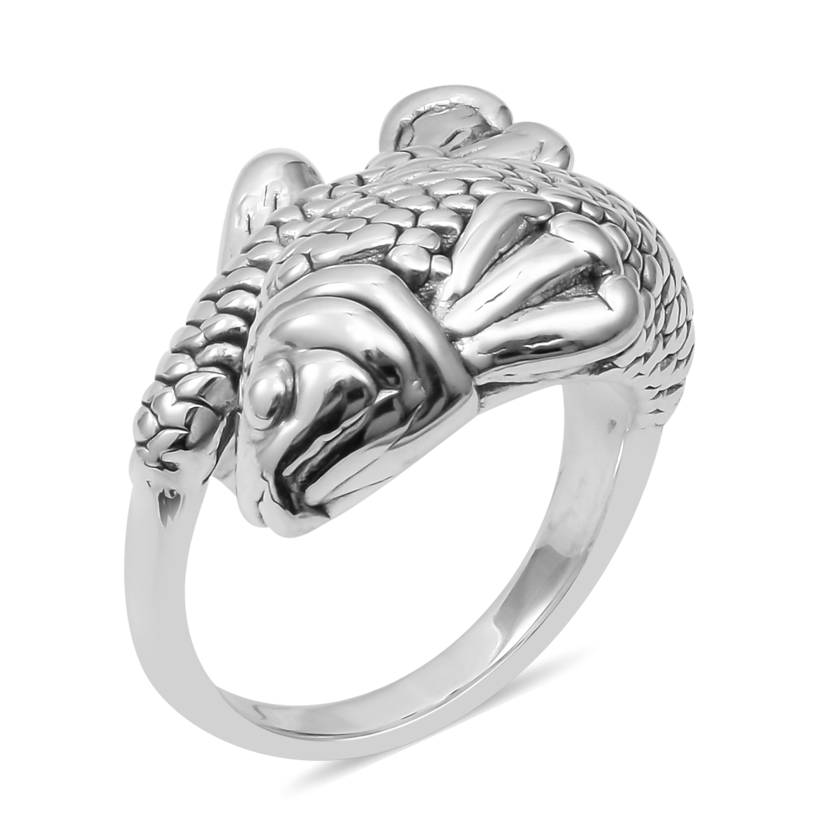 Ring (Size 9.0) in Sterling Silver (Avg. 6.12 g)