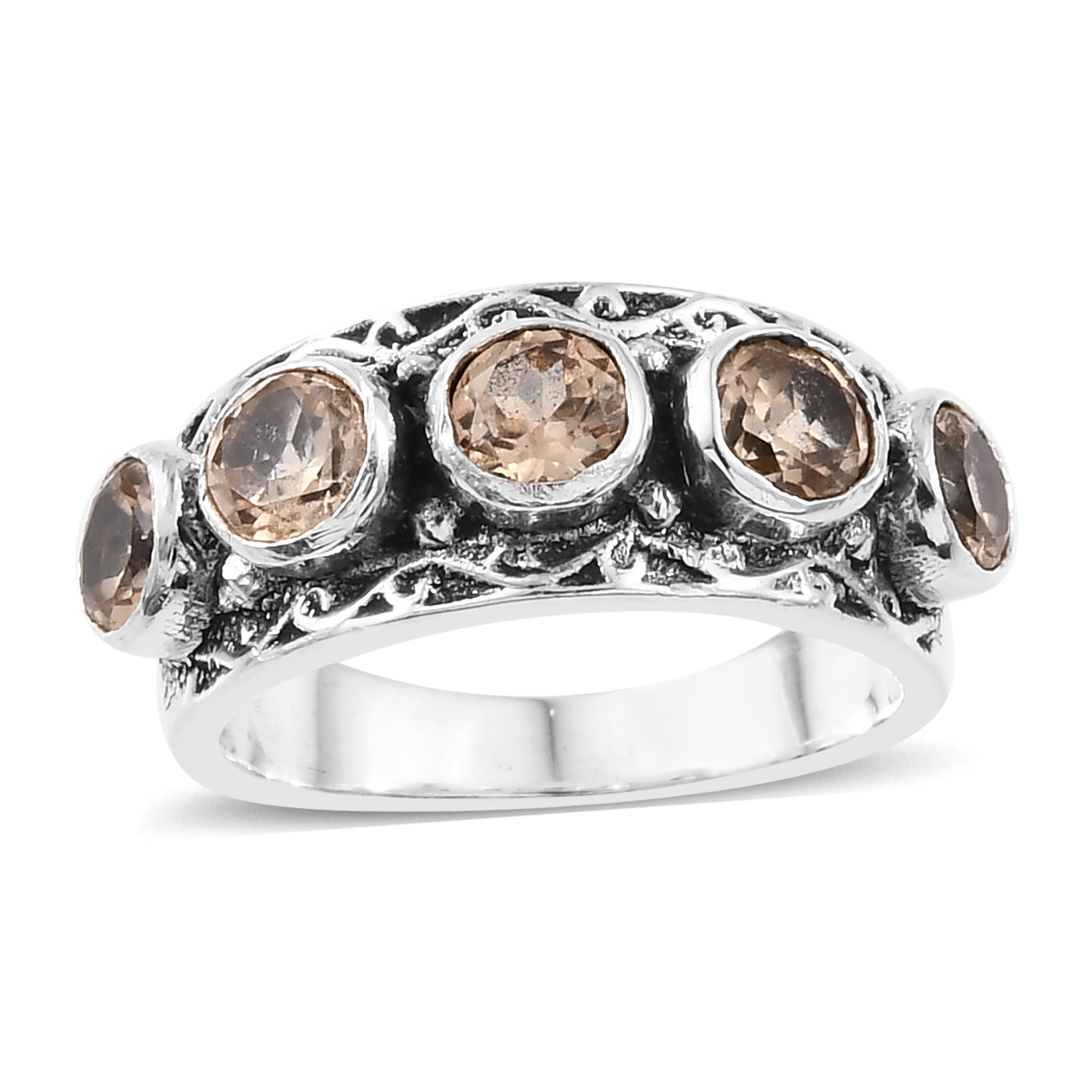 Artisan Crafted Ceylon Imperial Garnet Ring in Sterling Silver (Size 9.0) 1.69 ctw