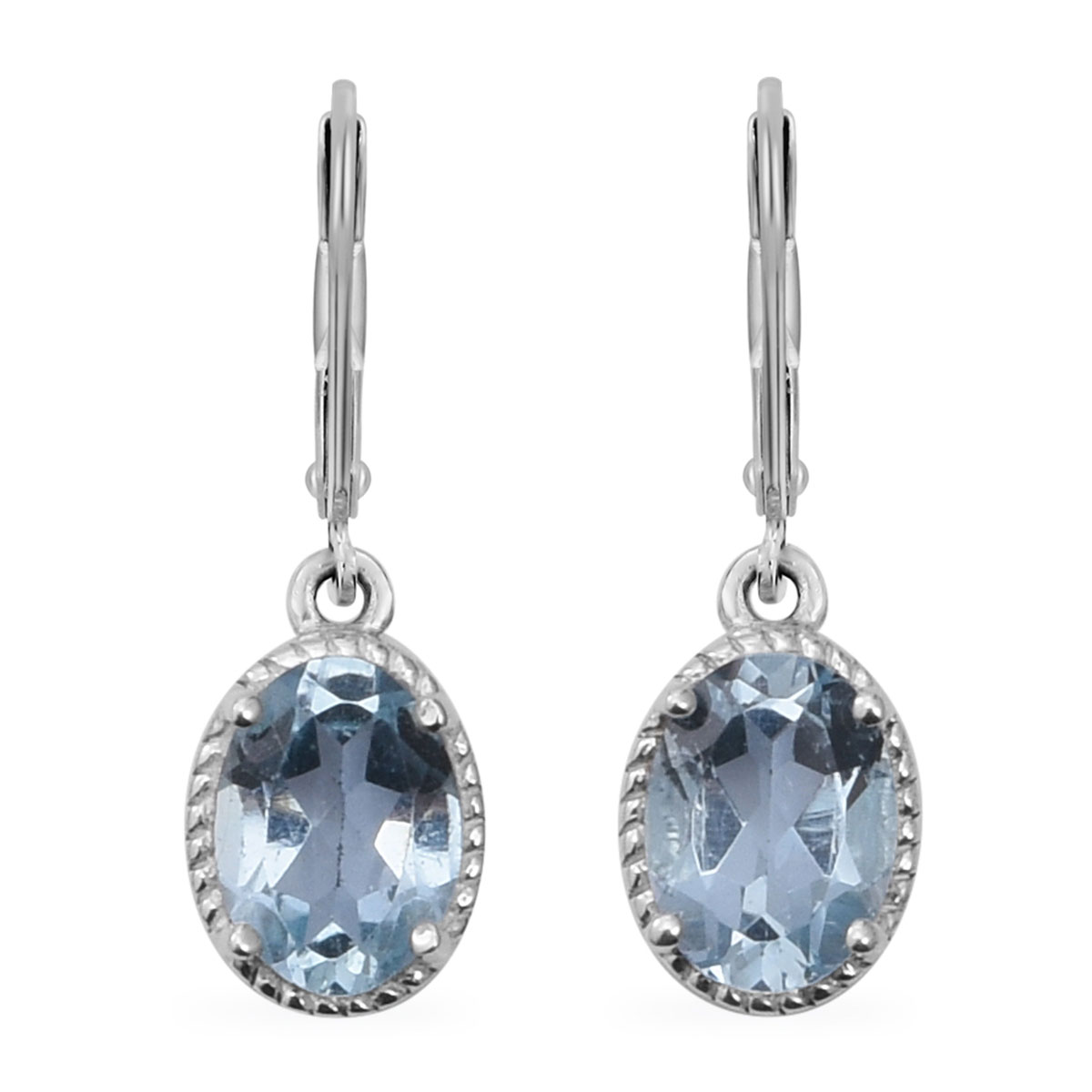 Lever Back Earrings 925 Sterling Silver Gift Jewelry for Women Ct 4