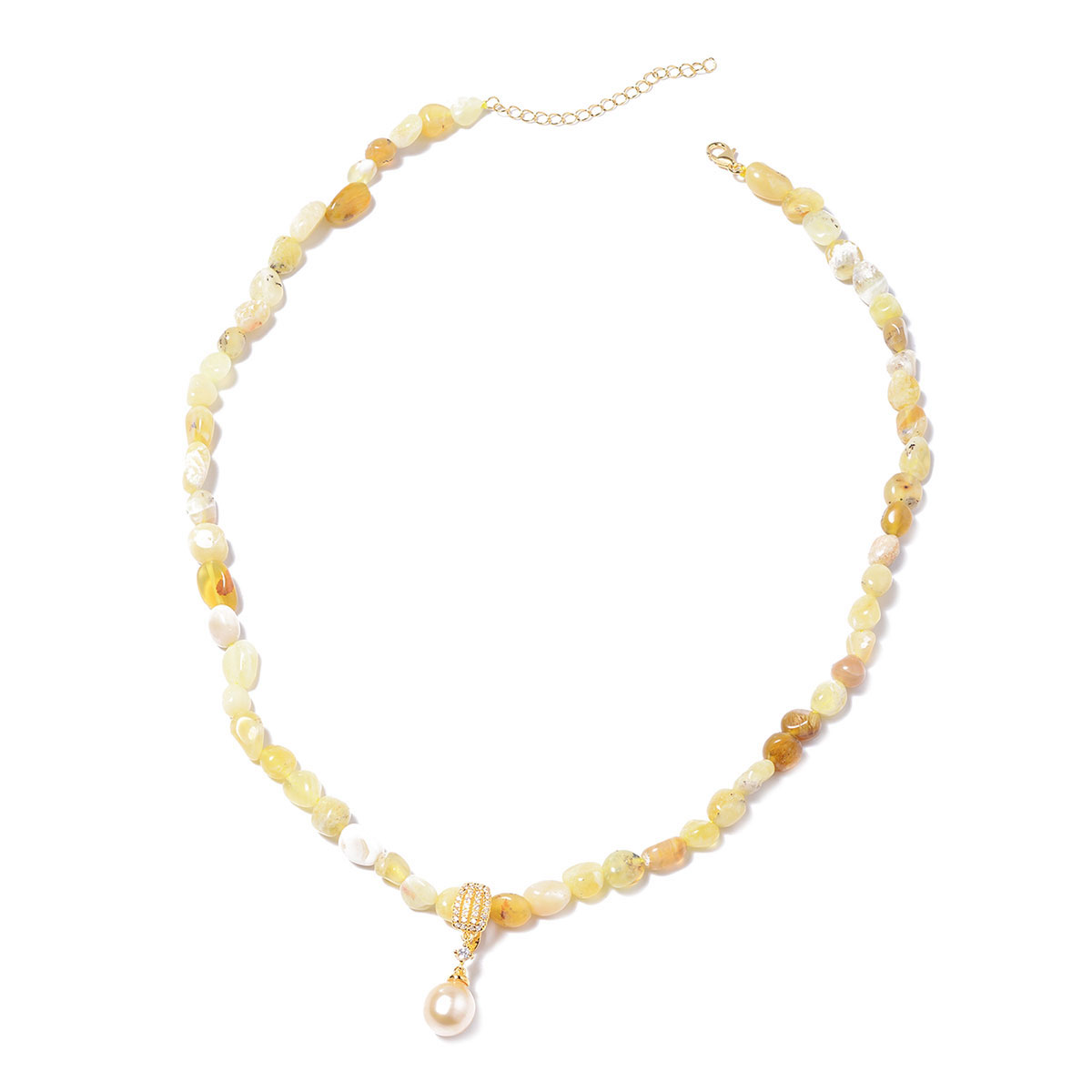 in Sterling 10 mm Necklace 18 in Bali Legacy South Sea Golden Cultured Pearl