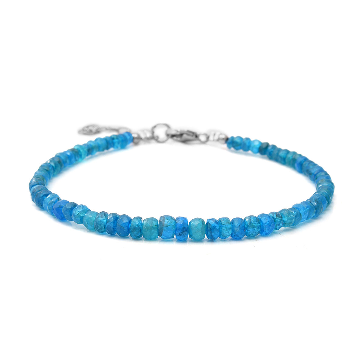 Cushion Rose Quartz Stretch Stretchable Bracelet for Women Gift Jewelry Ct 421