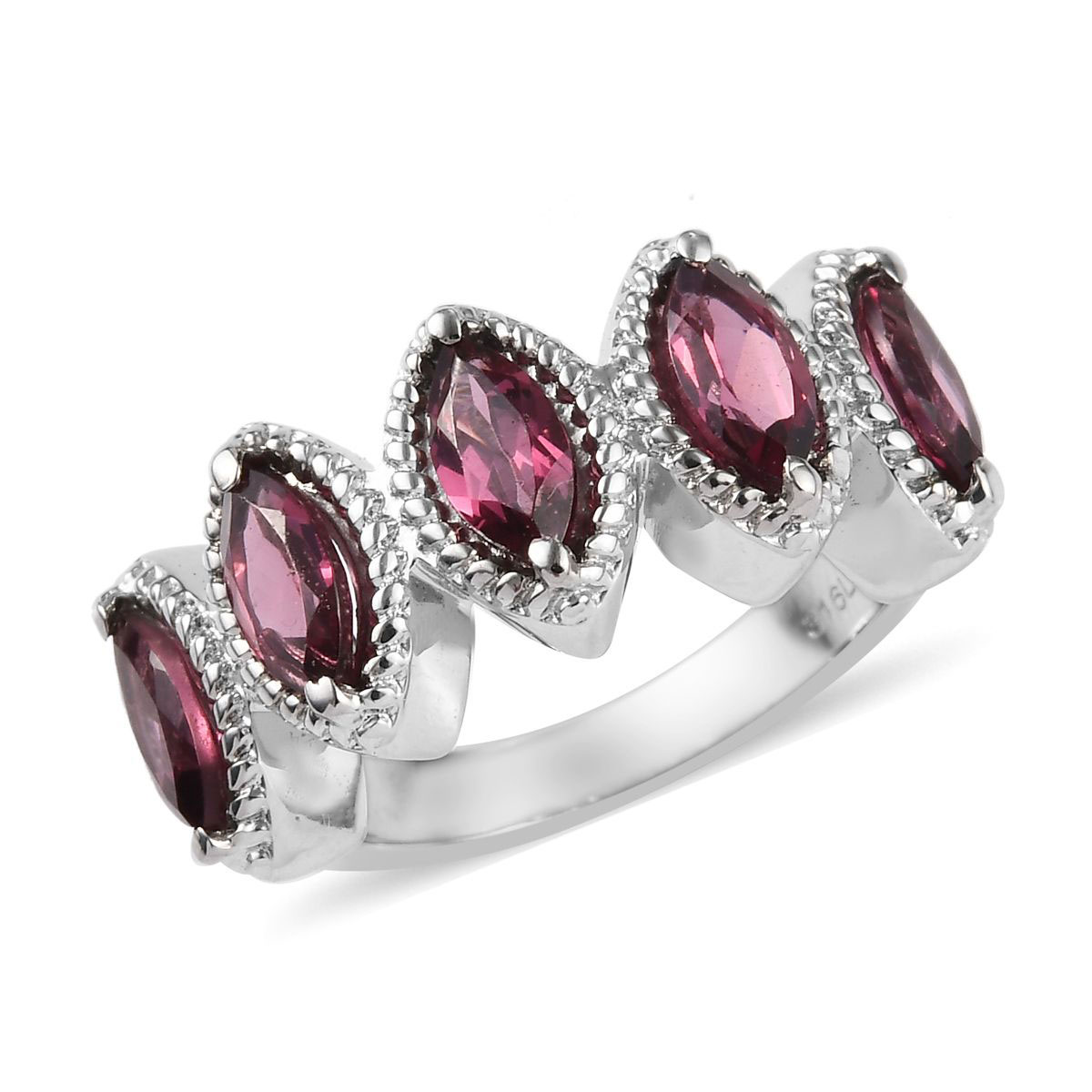 Shop LC Delivering Joy Statement Ring Stainless Steel Jewelry for Women Size 8