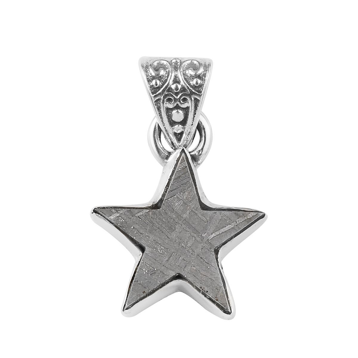 Jewels Obsession Moon /& Star Pendant Sterling Silver 925 Moon /& Star Pendant 26 mm