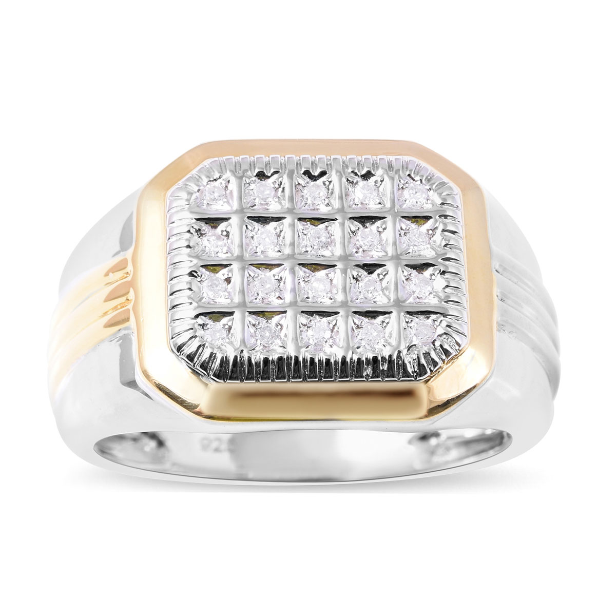 0.10CTW DIAMOND MENS FASHION BAND Available Sizes 5 to 11