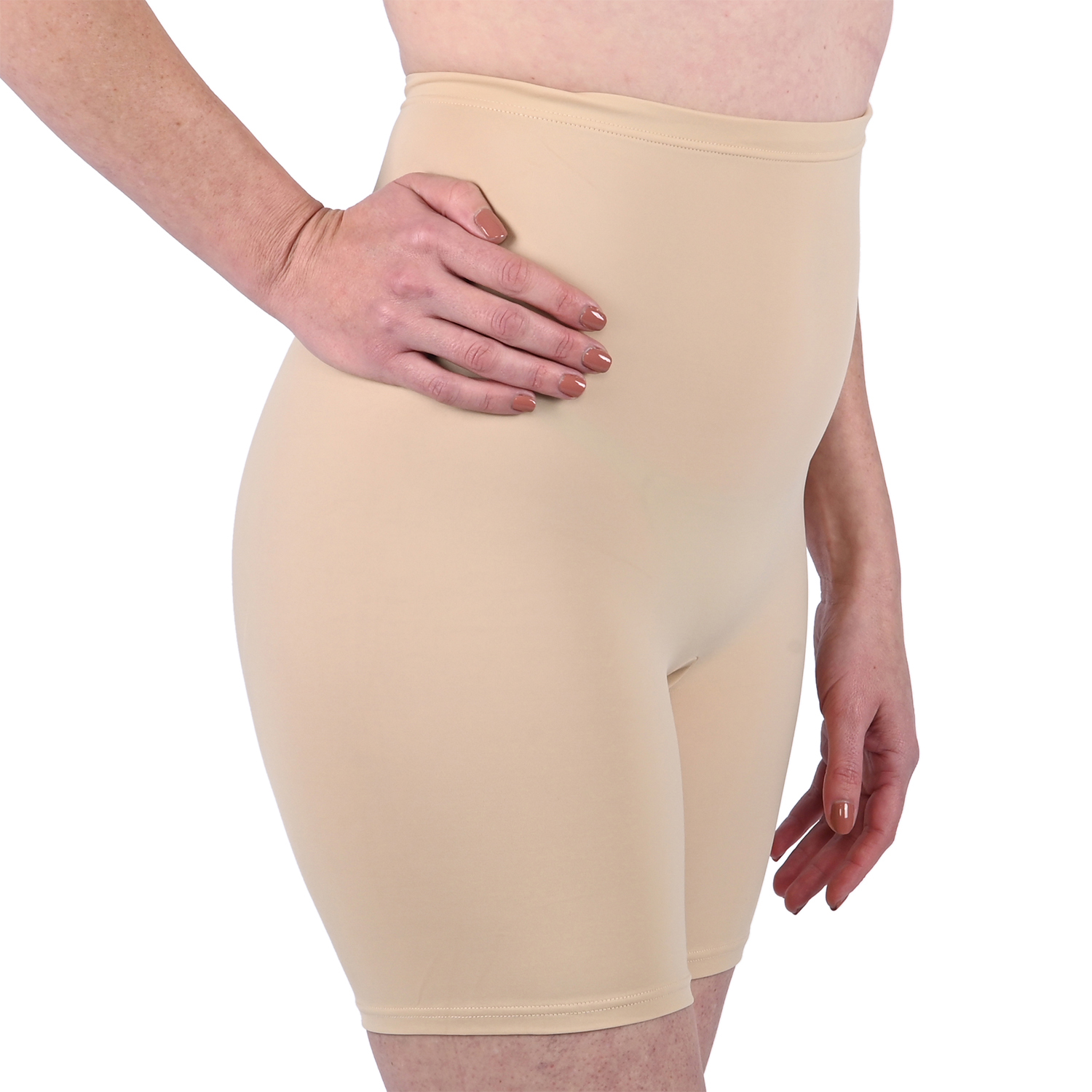 Maidenform Smoothing Cool Comfort Thigh Slimmer - Nude