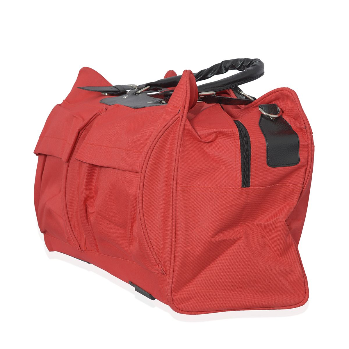 J Francis - Daytime Adventures Red 100% Polyester Travel Bag (19x13x8 in)