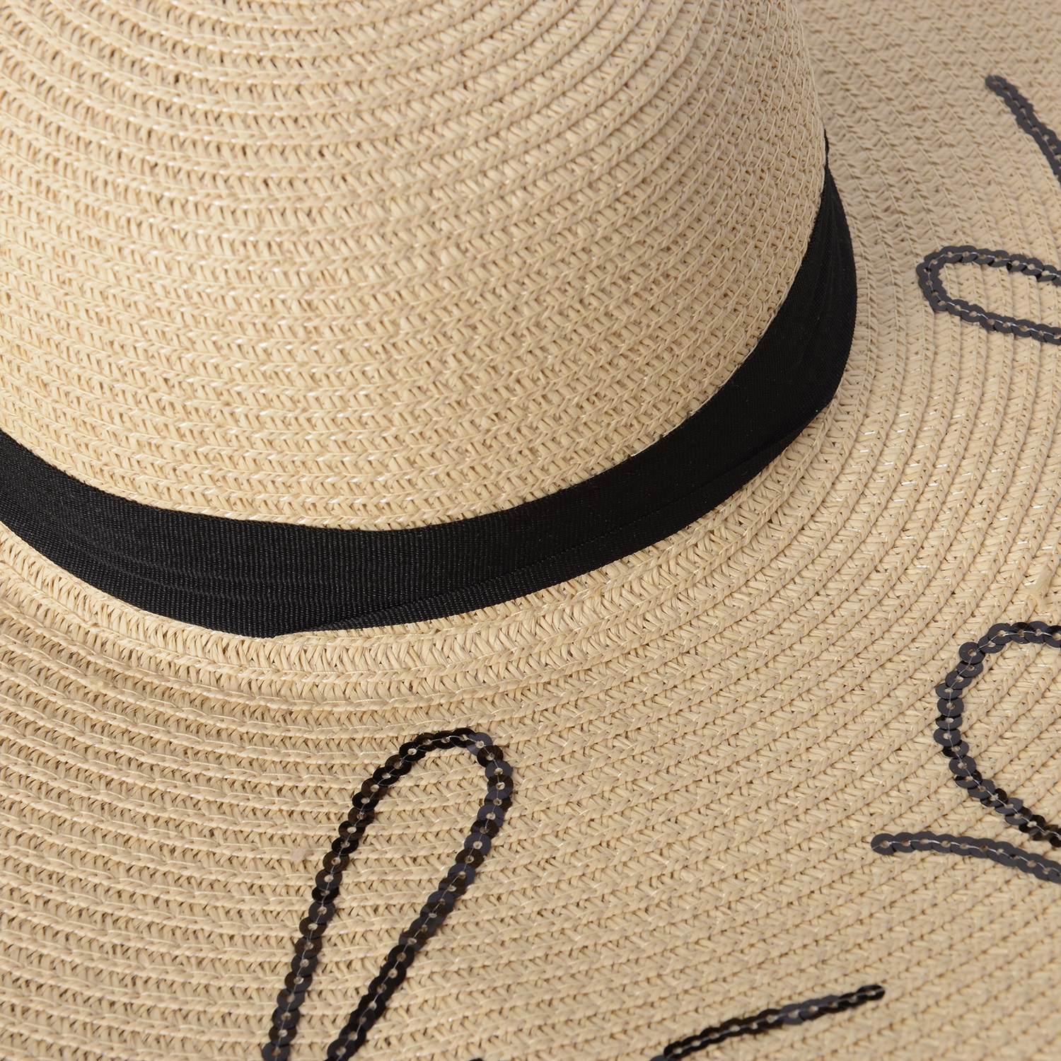 a7938599dba32 ... Off White 100% Straw Paper Embroidered Out of Office Sun Hat ...
