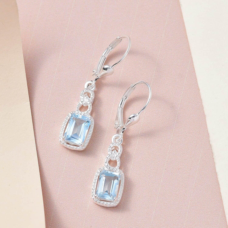 Amethyst-Garnet-Topaz-925-Sterling-Silver-Dangle-Drop-Earrings-for-Women-Jewelry thumbnail 37