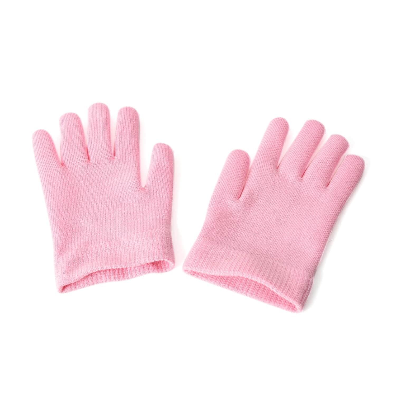 Pink Moisturizing Gel Gloves and Socks Set One Size Fits Most