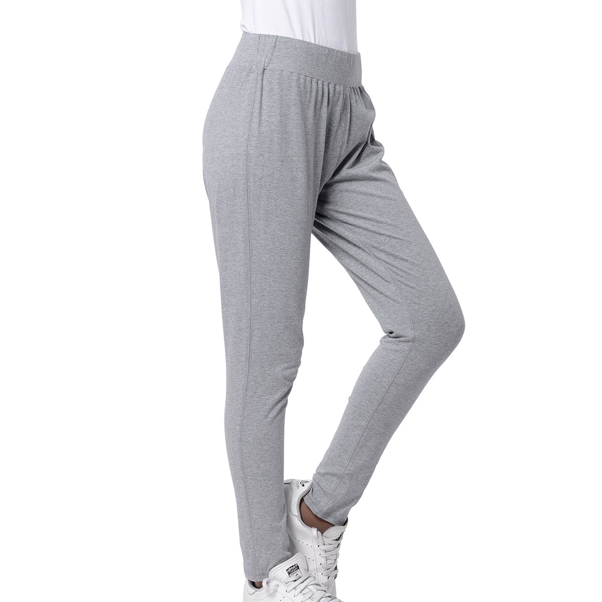 ea01bb0f4ee Marigold & Lotus Gray High Waist Elastic Legging Pants - XL (100% Viscose)