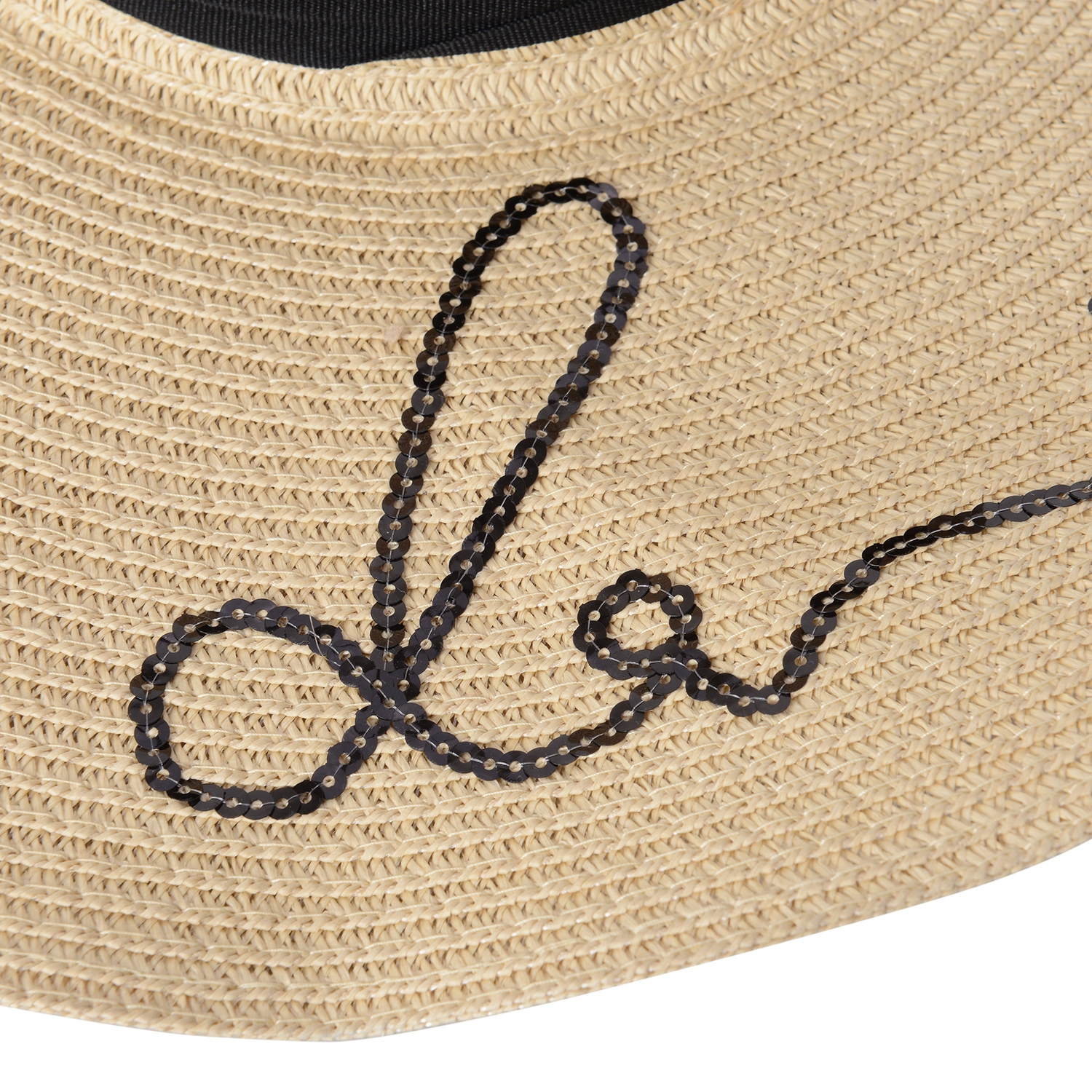 1a8870b2e5111 ... Off White 100% Straw Paper Embroidered Out of Office Sun Hat