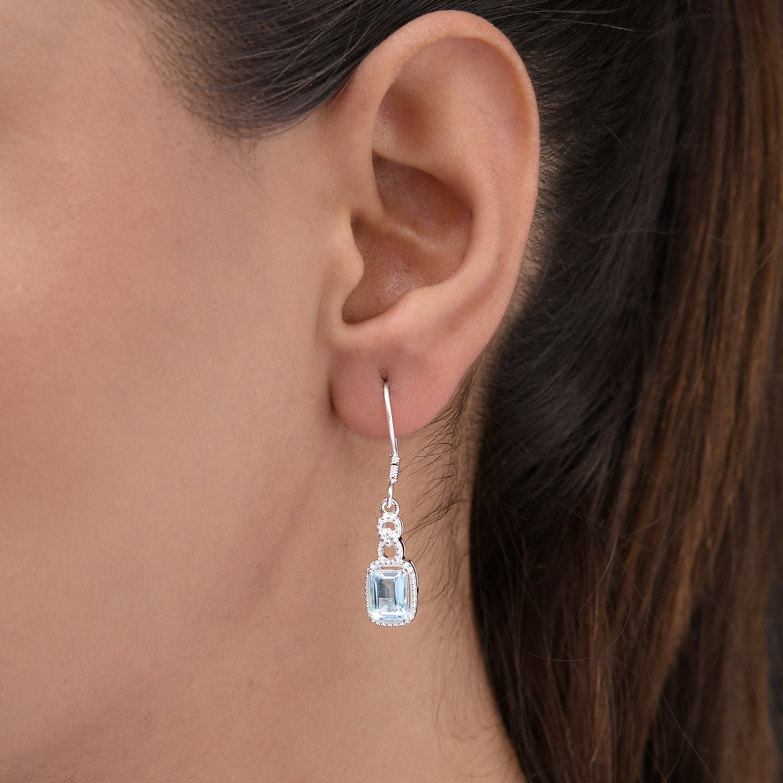 Amethyst-Garnet-Topaz-925-Sterling-Silver-Dangle-Drop-Earrings-for-Women-Jewelry thumbnail 38