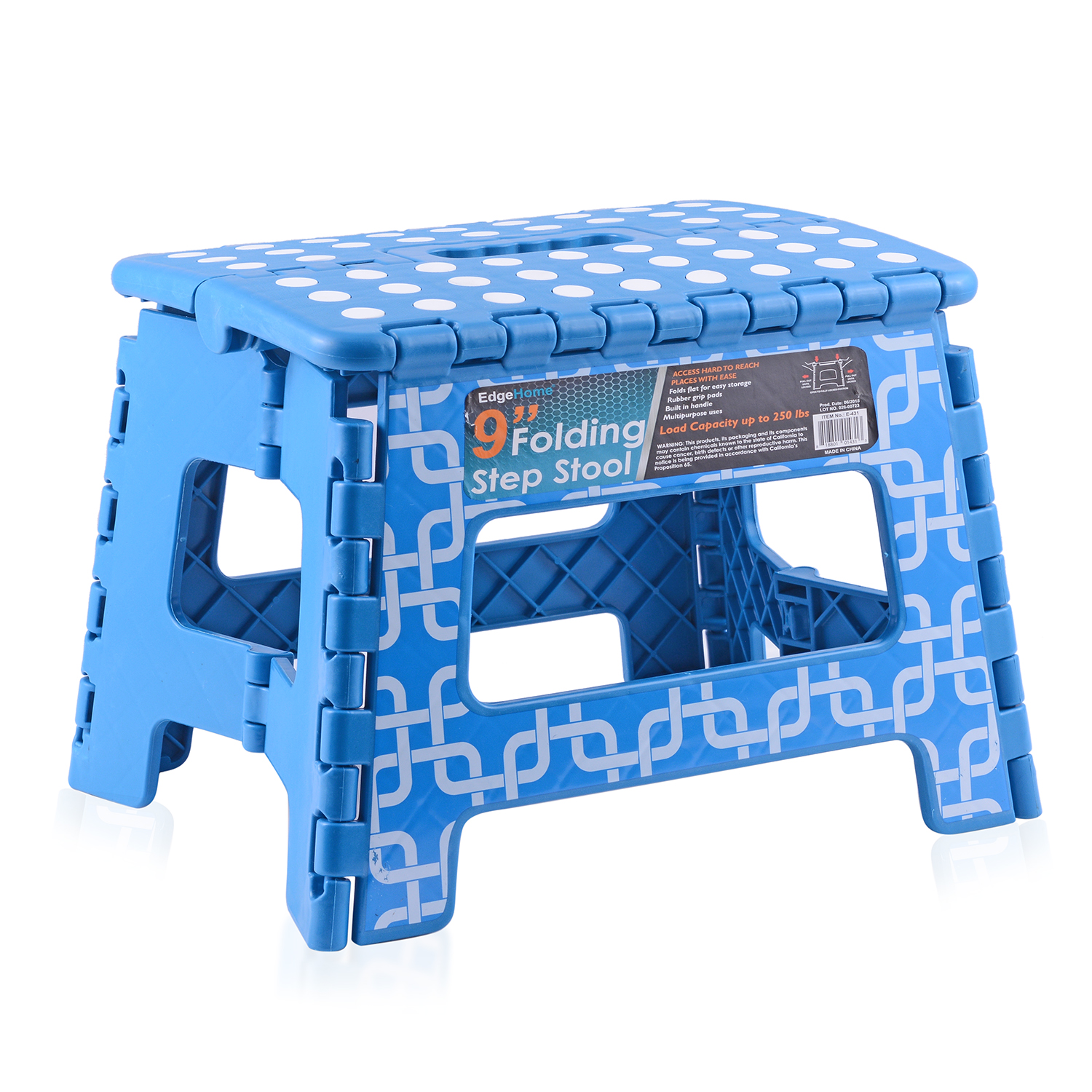 Outstanding Blue Folding Step Stool 9 In Gmtry Best Dining Table And Chair Ideas Images Gmtryco