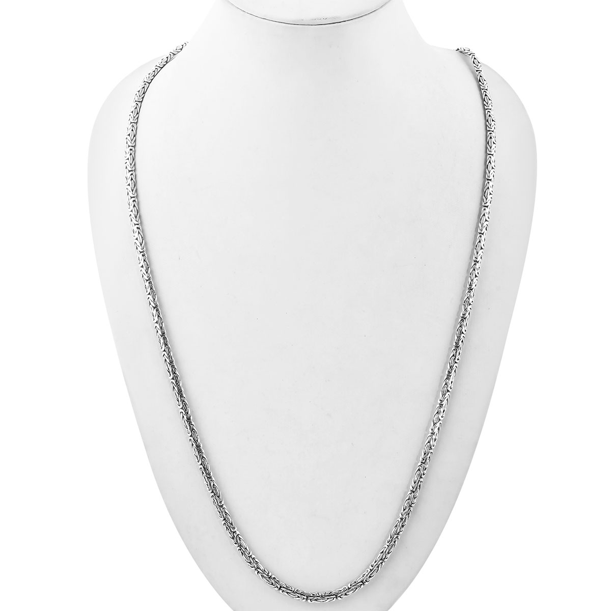 BALI LEGACY Sterling Silver Borobudur Necklace (30 in, 48.2 g)