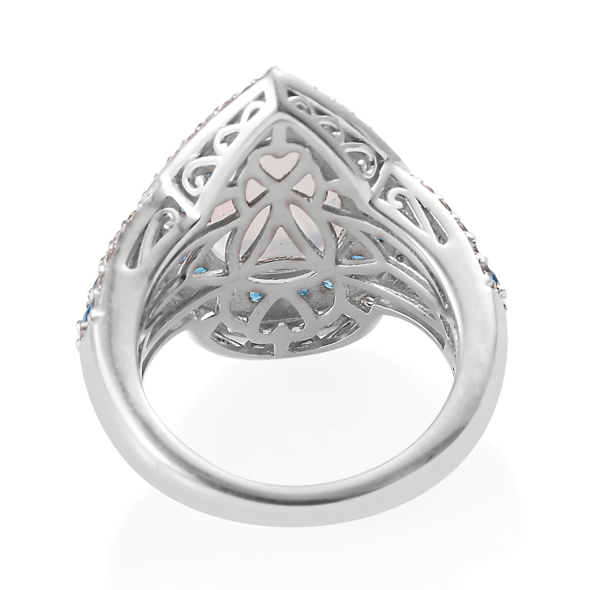 925-Sterling-Silver-Opal-Neon-Apatite-Halo-Ring-Jewelry-for-Women-Ct-4-1 thumbnail 4
