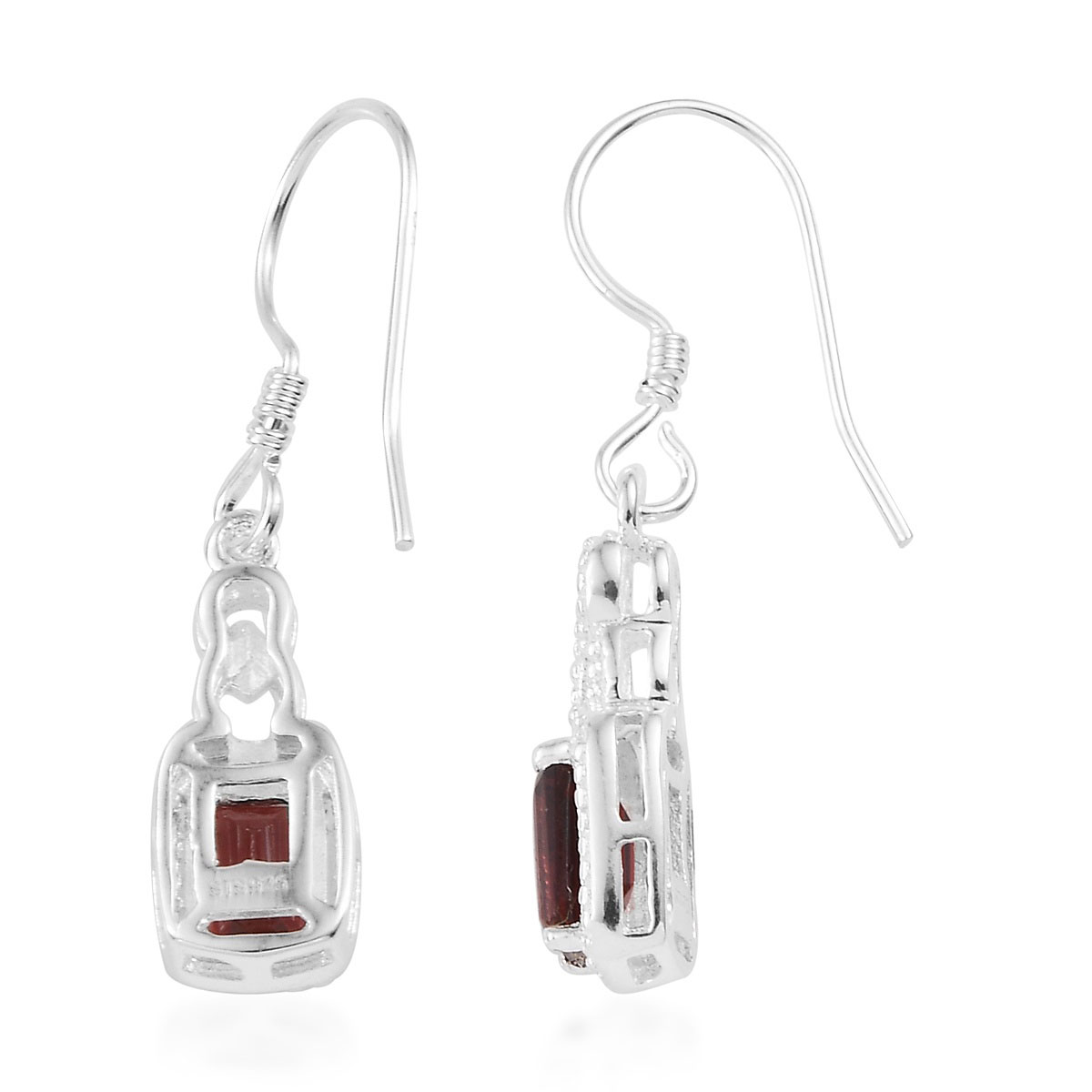 Amethyst-Garnet-Topaz-925-Sterling-Silver-Dangle-Drop-Earrings-for-Women-Jewelry thumbnail 13