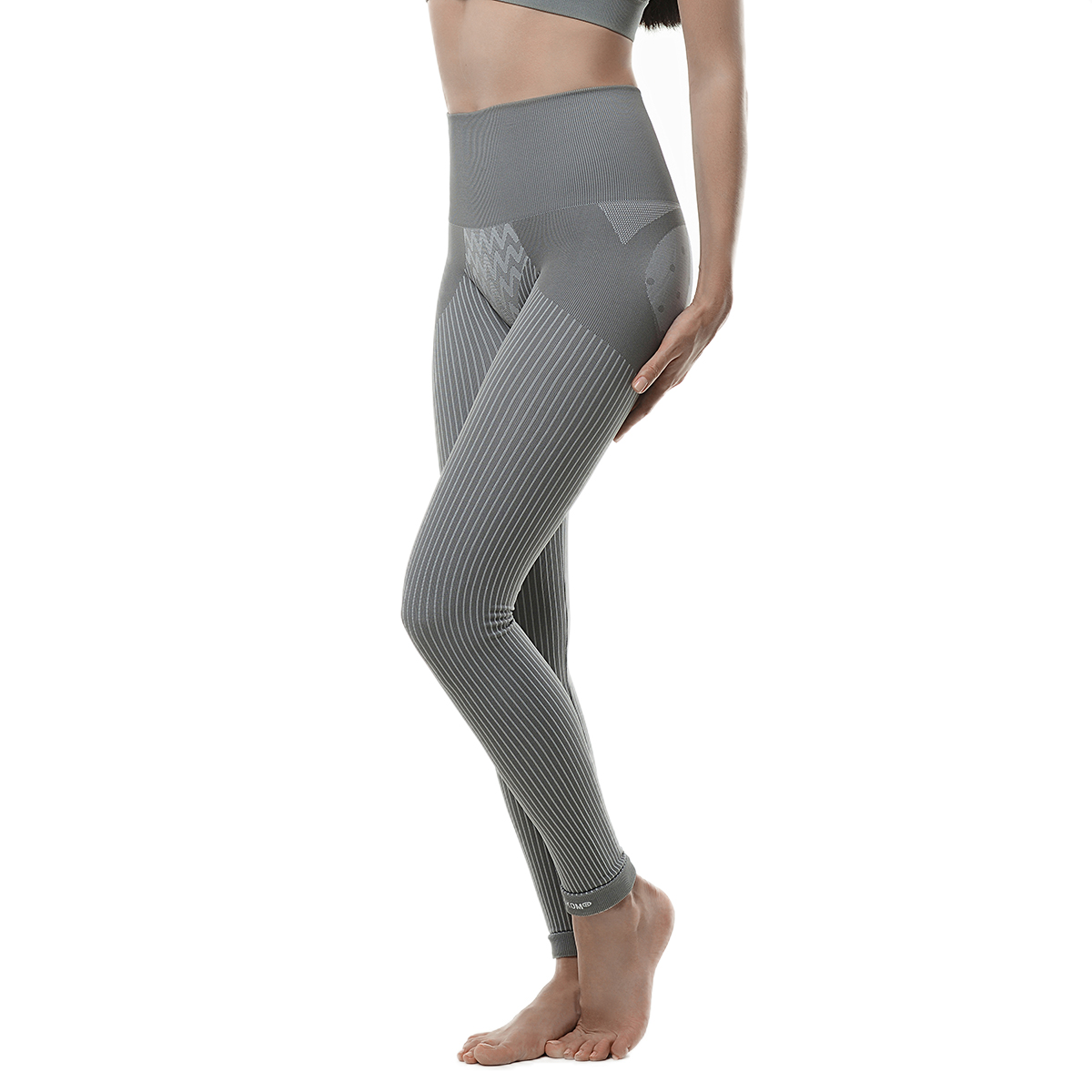 f04d71f06c0 ... SANKOM-Grey Slimming   Posture Leggings with Bamboo Fibers  (Hypoallergenic)-M ...