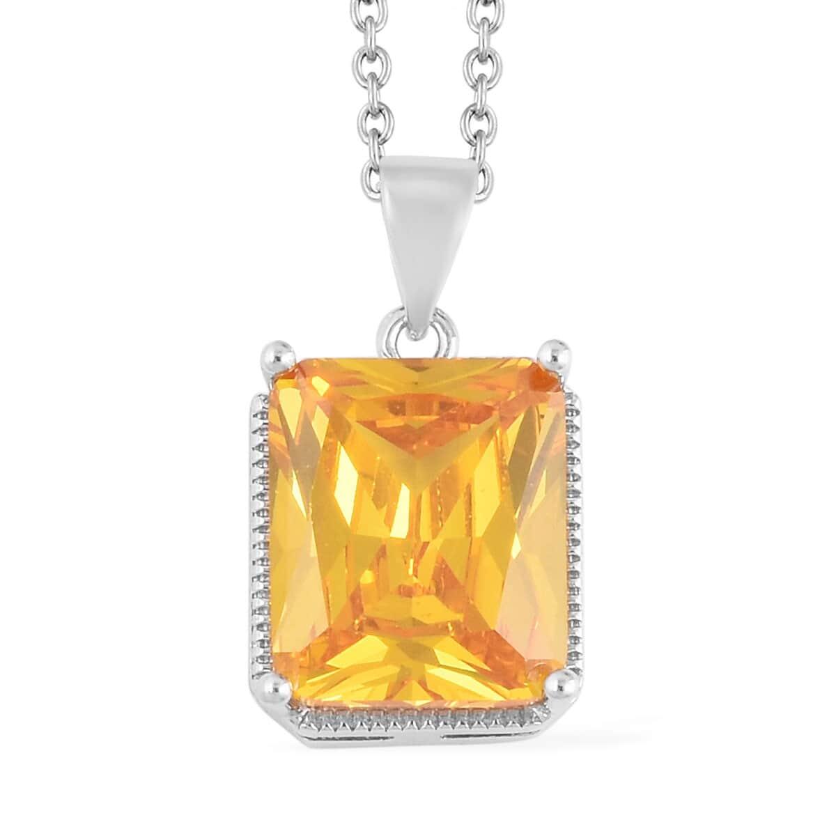 12-Color-Options-Cubic-Zirconia-Bracelet-Chain-Pendant-Necklace-Set-Adjustable thumbnail 110