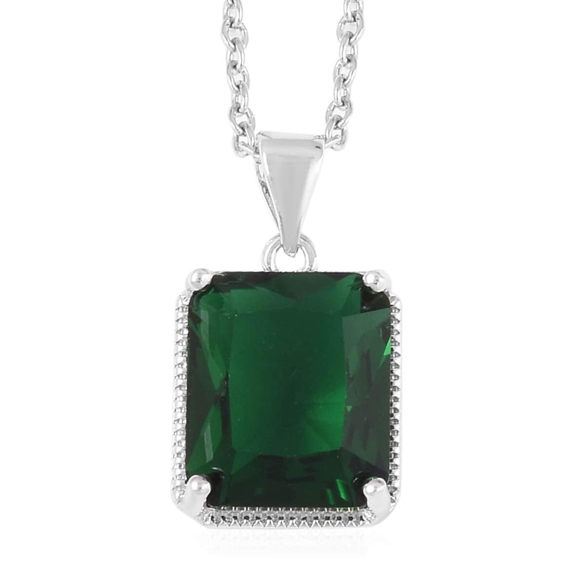 12-Color-Options-Cubic-Zirconia-Bracelet-Chain-Pendant-Necklace-Set-Adjustable thumbnail 32