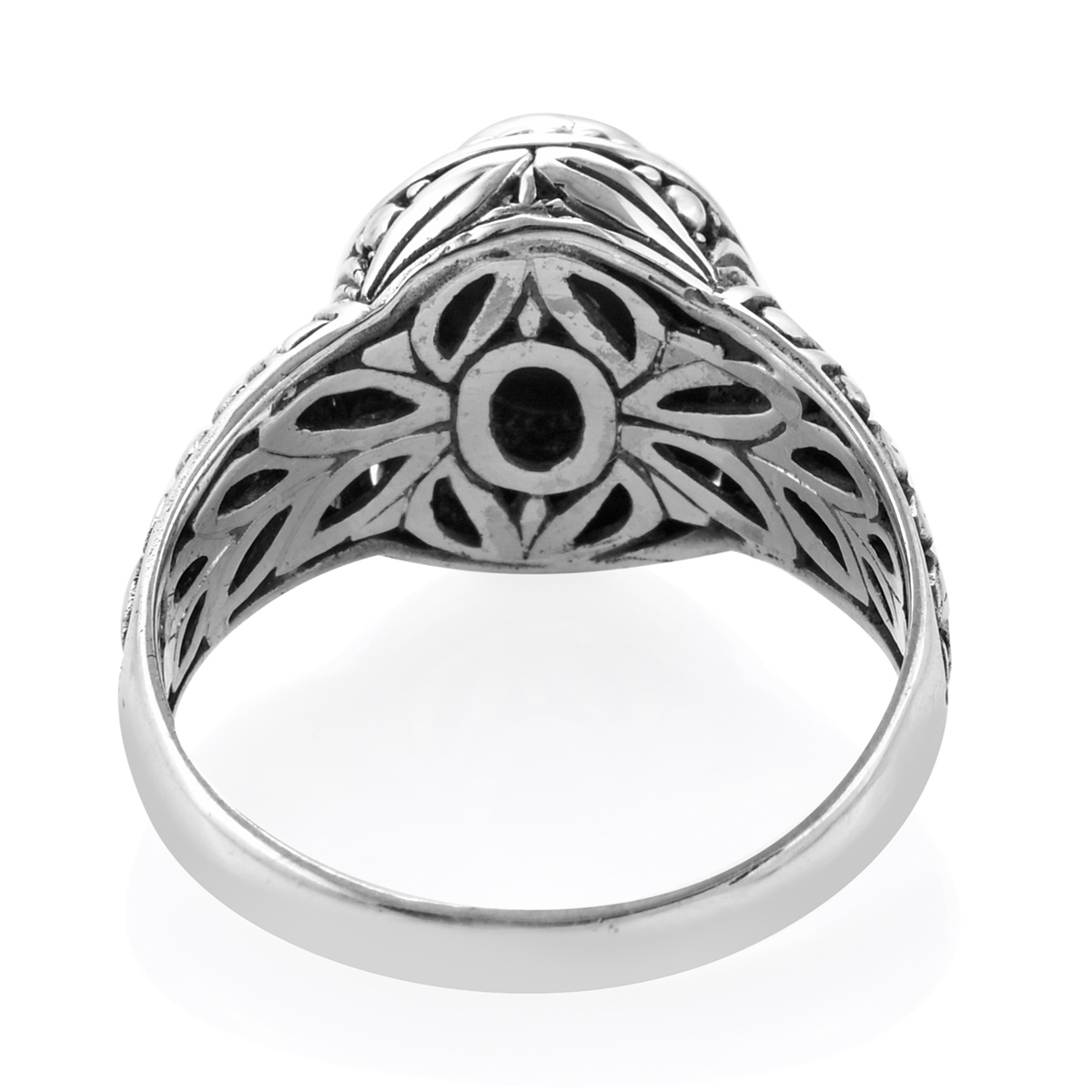 Bali Legacy Arizona Sleeping Beauty Turquoise Ring in Sterling Silver (Size 6.0) 1.81 ctw