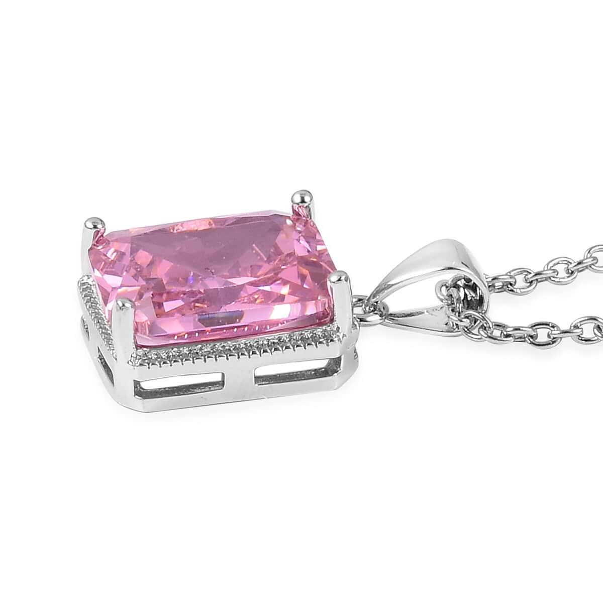 12-Color-Options-Cubic-Zirconia-Bracelet-Chain-Pendant-Necklace-Set-Adjustable thumbnail 67