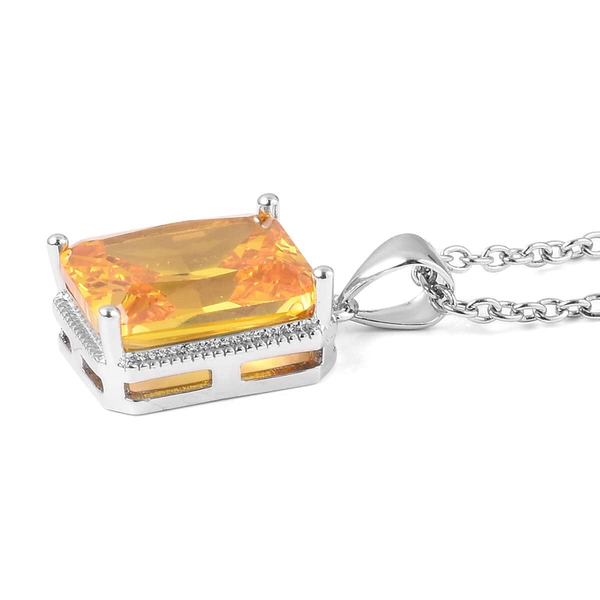 12-Color-Options-Cubic-Zirconia-Bracelet-Chain-Pendant-Necklace-Set-Adjustable thumbnail 111