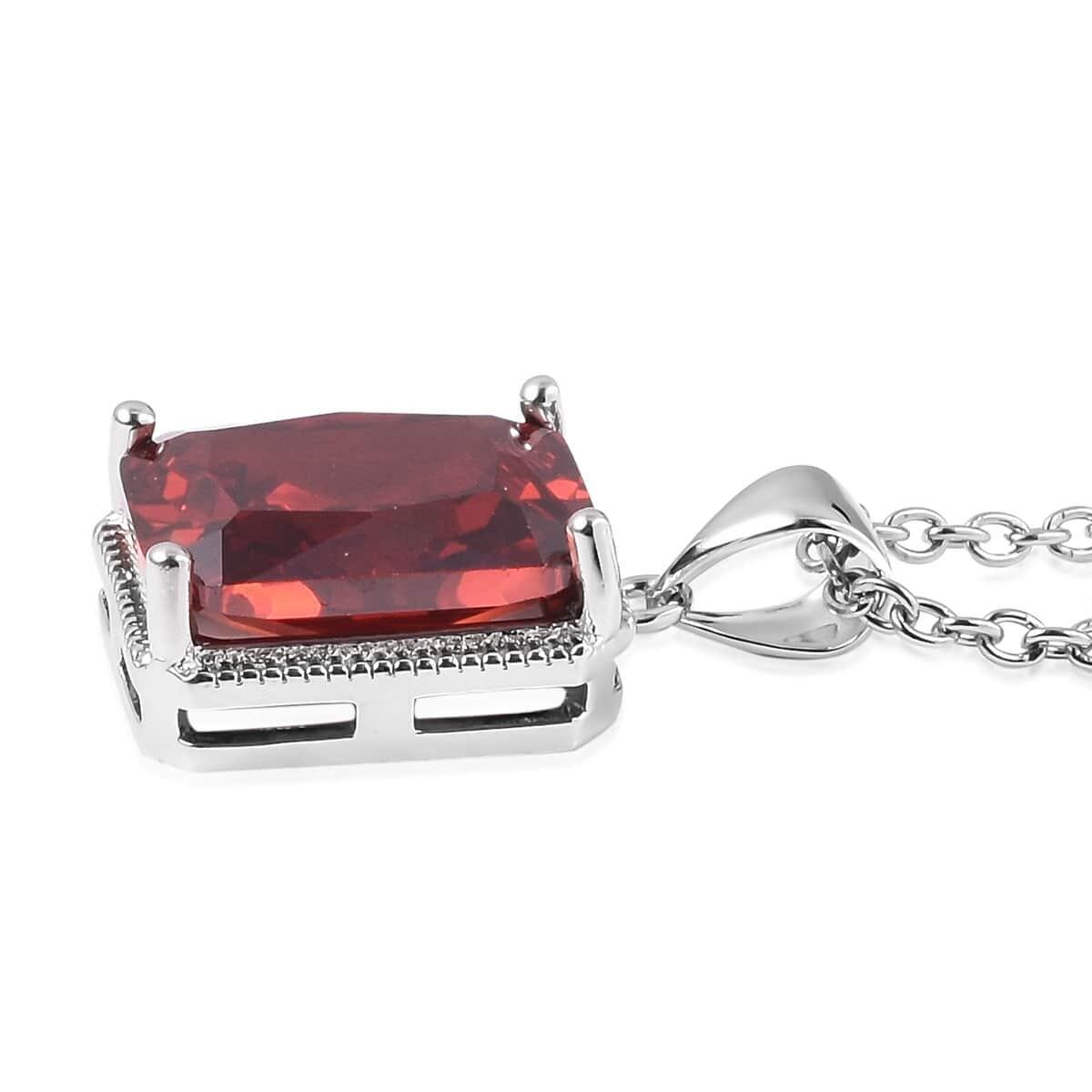 12-Color-Options-Cubic-Zirconia-Bracelet-Chain-Pendant-Necklace-Set-Adjustable thumbnail 85