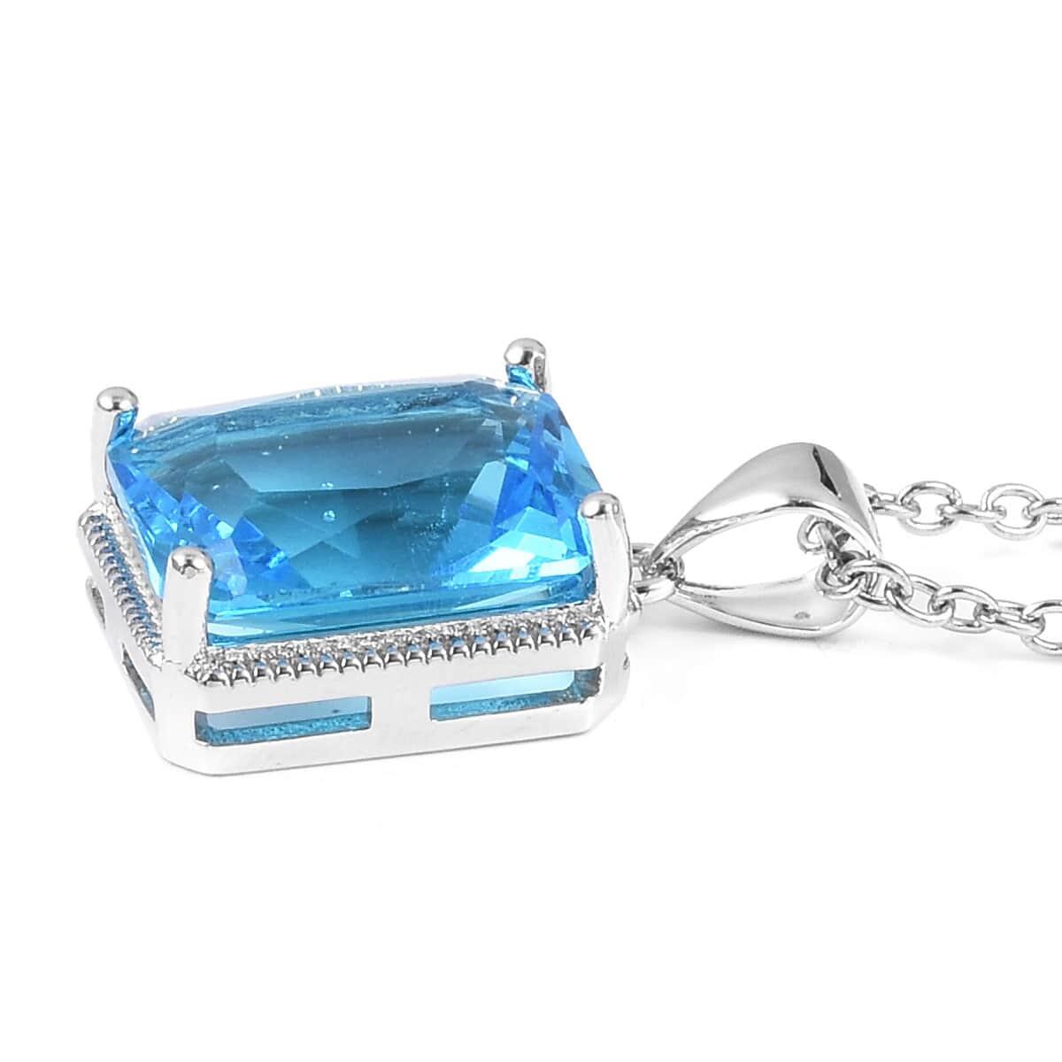 12-Color-Options-Cubic-Zirconia-Bracelet-Chain-Pendant-Necklace-Set-Adjustable thumbnail 94