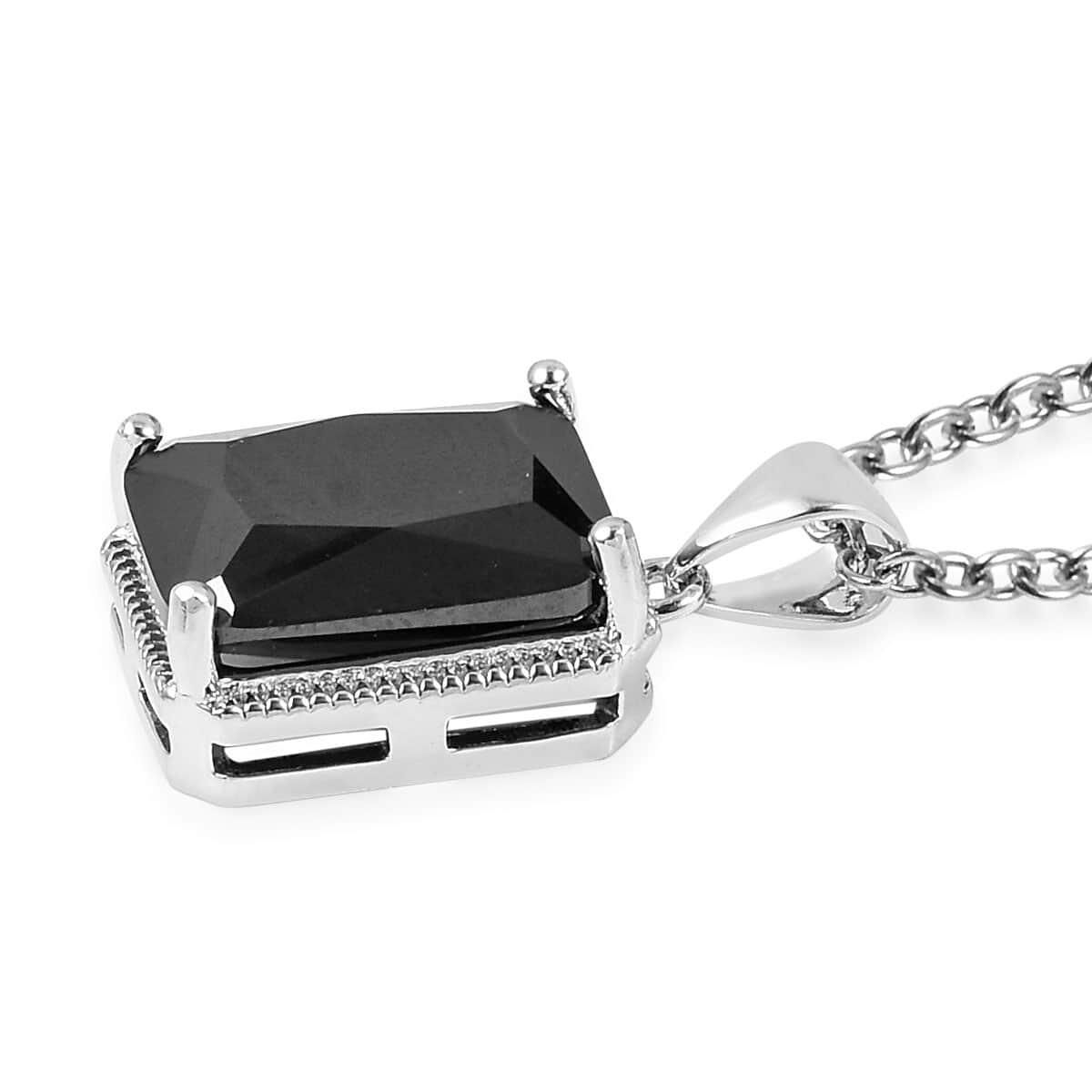 12-Color-Options-Cubic-Zirconia-Bracelet-Chain-Pendant-Necklace-Set-Adjustable thumbnail 15