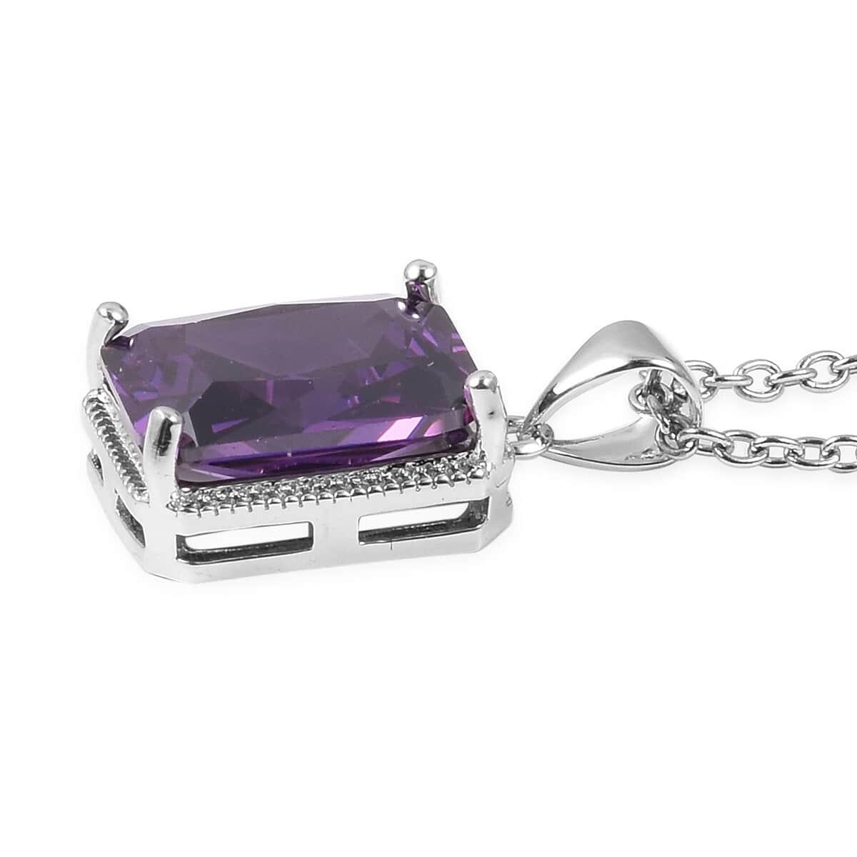 12-Color-Options-Cubic-Zirconia-Bracelet-Chain-Pendant-Necklace-Set-Adjustable thumbnail 76