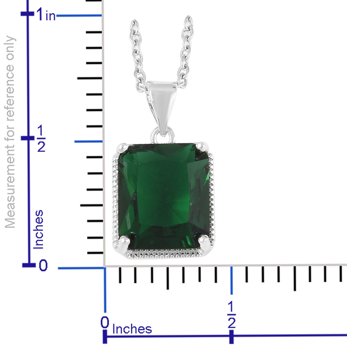 12-Color-Options-Cubic-Zirconia-Bracelet-Chain-Pendant-Necklace-Set-Adjustable thumbnail 34