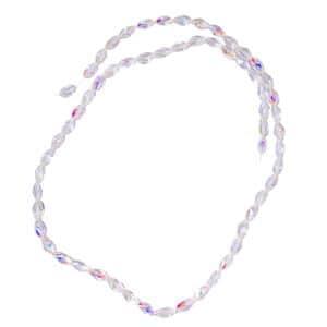Gem Workshop White Glass Beads Strand
