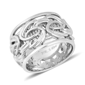 Band Ring in Stainless Steel (Size 10.0)
