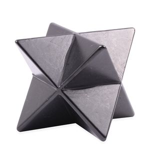Merkaba Star Shape Polished Shungite (10x9.5 cm) 1832.50 ctw
