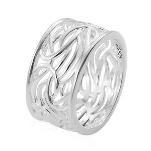 Band Ring in Sterling Silver (Size 7.0) (Avg 5.2 g)
