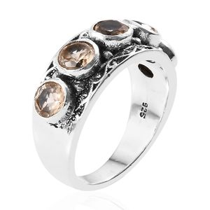 Artisan Crafted Ceylon Imperial Garnet Ring in Sterling Silver (Size 6.0) 1.69 ctw