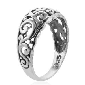 Scrollwork Ring in Sterling Silver (Size 6.0) (Avg. 3.06 g)