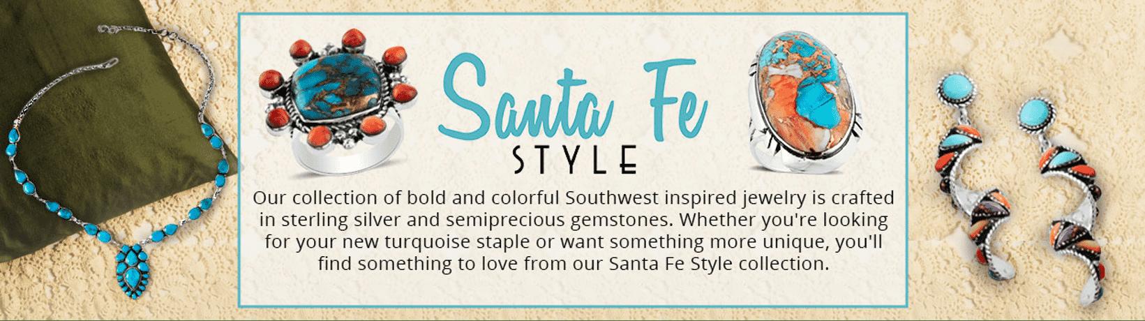 Santa Fe Style Banner