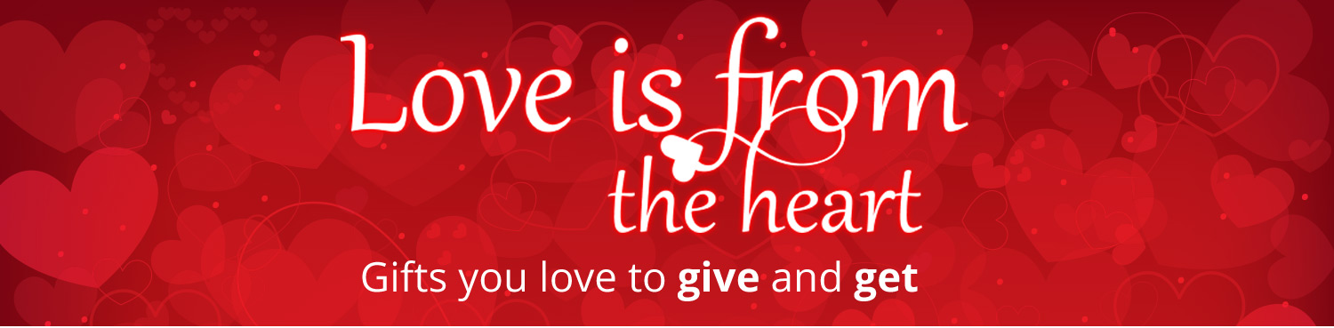 Love is from the heart