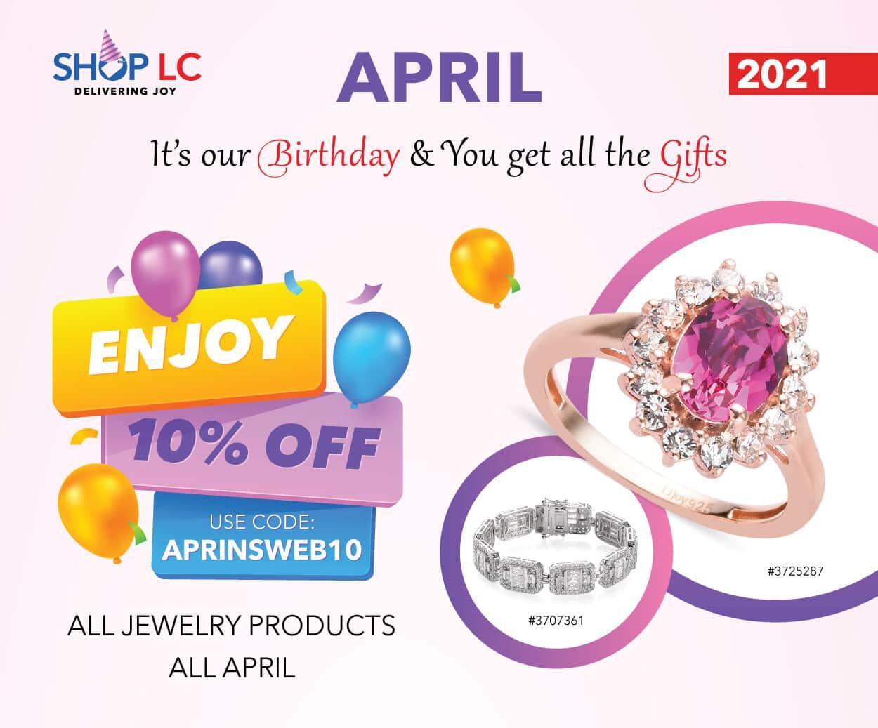 ShopLC April Insider Banner